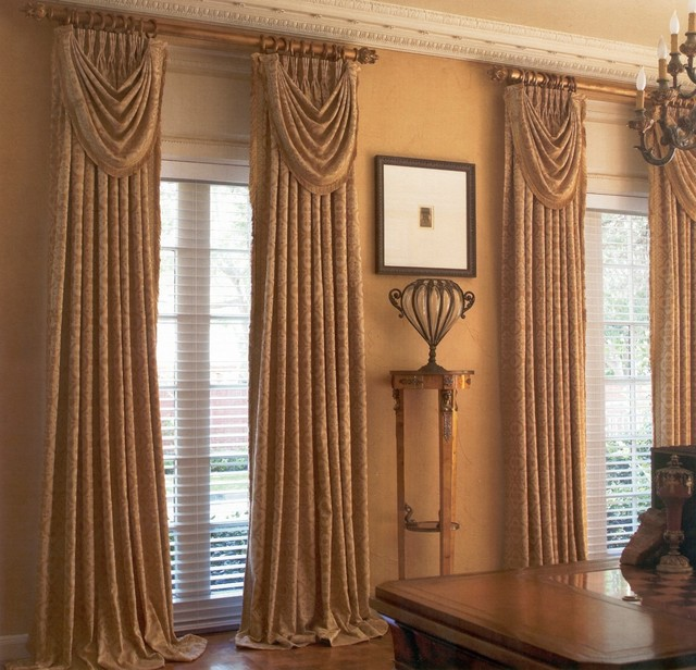 Drapery Projects amp Ideas Traditional Curtains