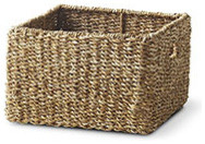 WOVEN SQUARE BASKET - LARGE eclectic-baskets