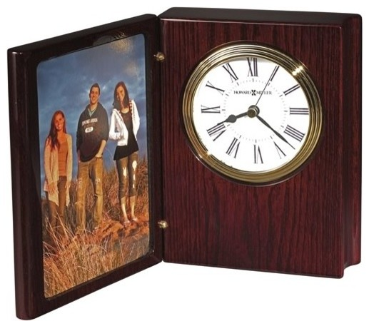 Portrait Book II Clock Rosewood Hall craftsman-frames