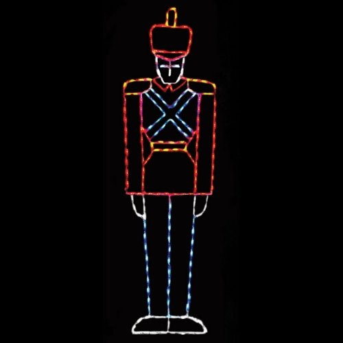 Brite Ideas LED Large Toy Soldier - 200 Bulbs contemporary holiday outdoor decorations