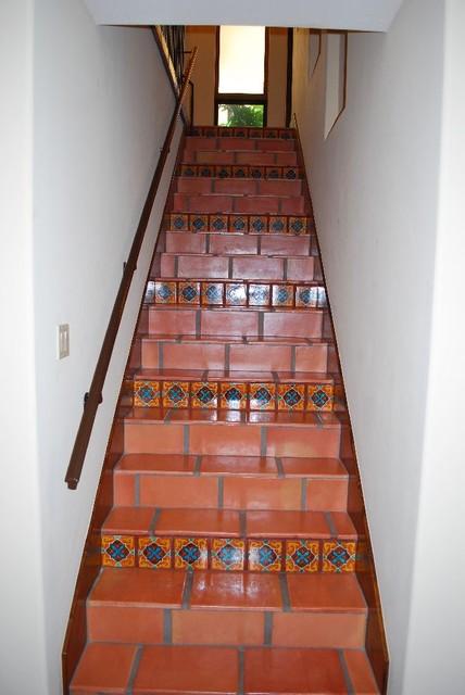 Green Acres mediterranean-staircase