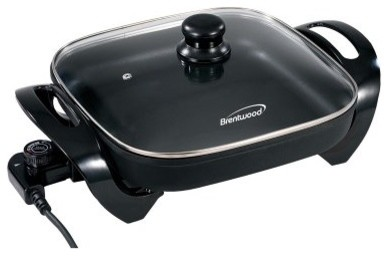 The Electric Skillet Fasten Your Cooking Process