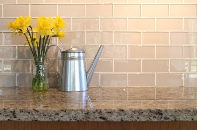 Country Cottage 3x6 Glass Subway Tiles Rocky Point Tile Traditional Vancouver By