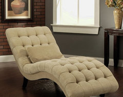 Thatcher Fabric Chaise Lounge Multicolor - HS-SF-250-BGE contemporary-indoor-chaise-lounge-chairs