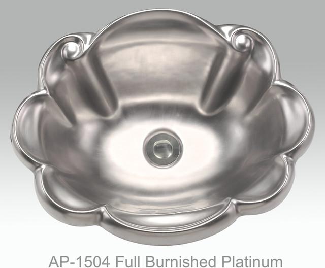 Full Gold & Platinum Decorations mediterranean-bathroom-sinks