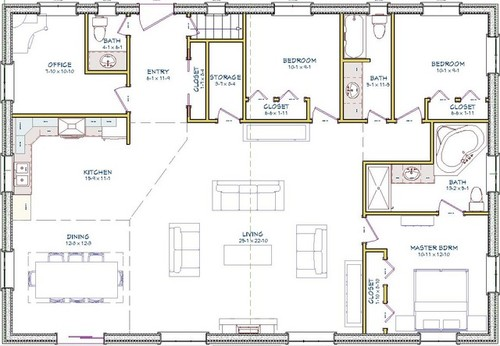bungalow plan please comment