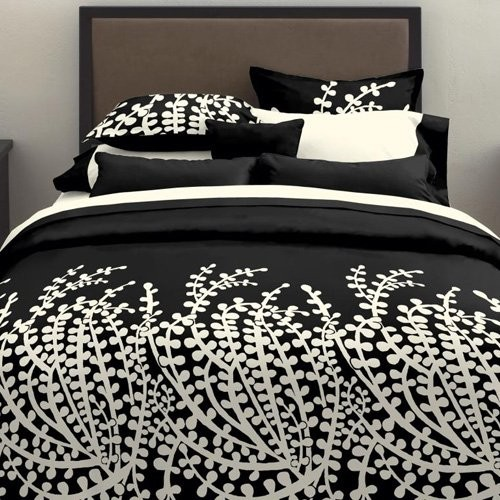 City Scene Branches Black Comforter Set - Contemporary - Bedding - by Hayneedle