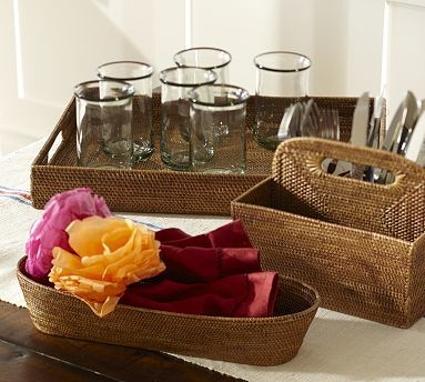 Tava Bread Tray, Honey stain traditional-serving-dishes-and-platters