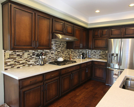 Tile backsplash home depot kitchen design ideas pictures for Home depot kitchen designs
