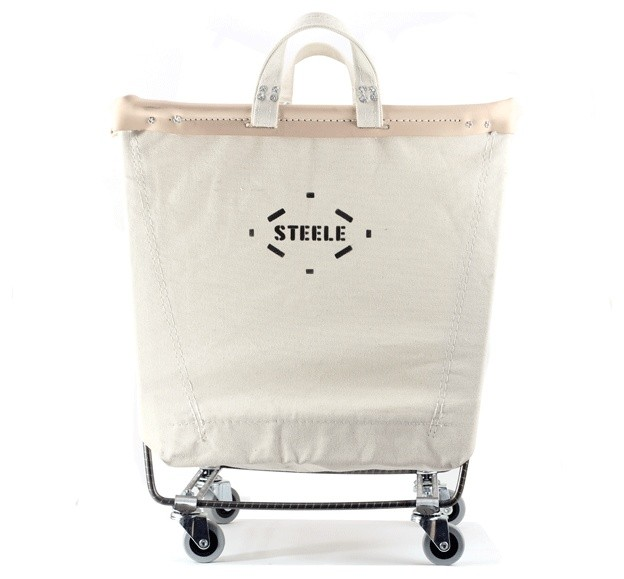 Steele Canvas Laundry Cart traditional-hampers