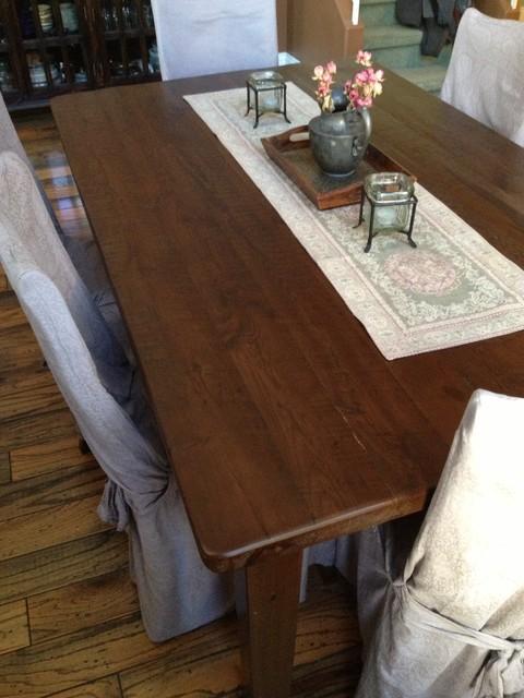Dining Tables transitional-dining-room