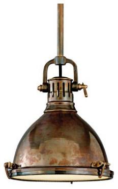 Hudson Valley Pelham Solid Brass Pendant traditional-pendant-lighting