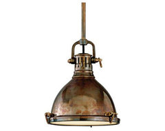Hudson Valley Pelham Solid Brass Pendant traditional pendant lighting