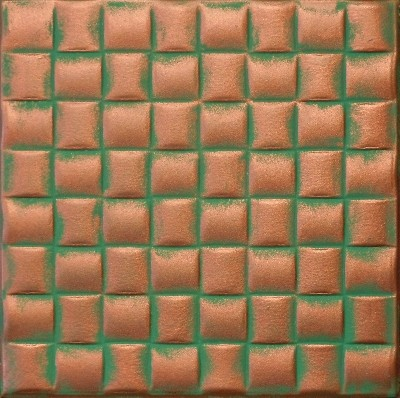 R 25 Styrofoam Ceiling Tile 20x20 - Copper Patina ceiling-tile