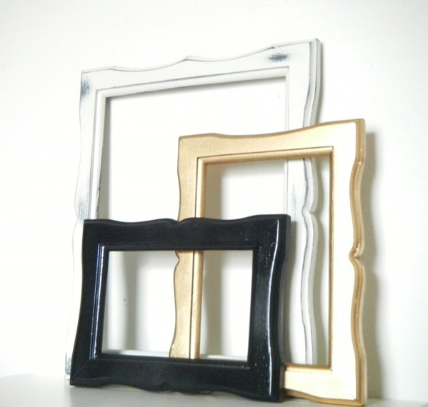 modern picture frames uk hanging photo in black gold and antique white wholesale images
