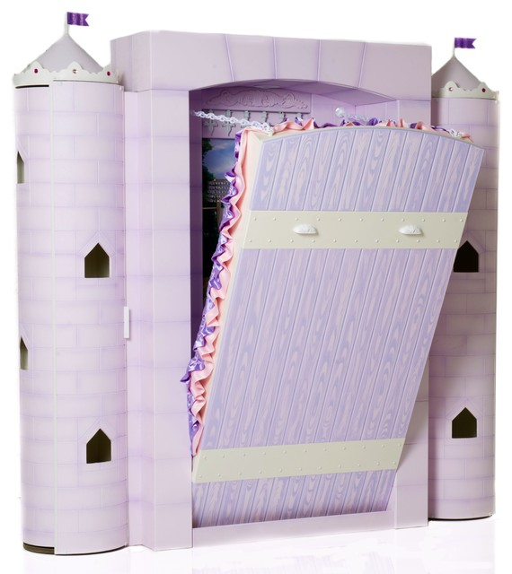 Princess Castle Bed - - kids beds - vancouver - by Fable Bedworks