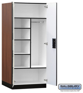 Designer Wood Storage Cabinet - Combination - 76 Inches High - 24 Inches Deep modern-small-kitchen-appliances