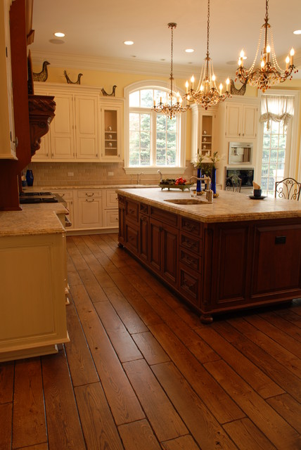 Private Residences traditional-kitchen