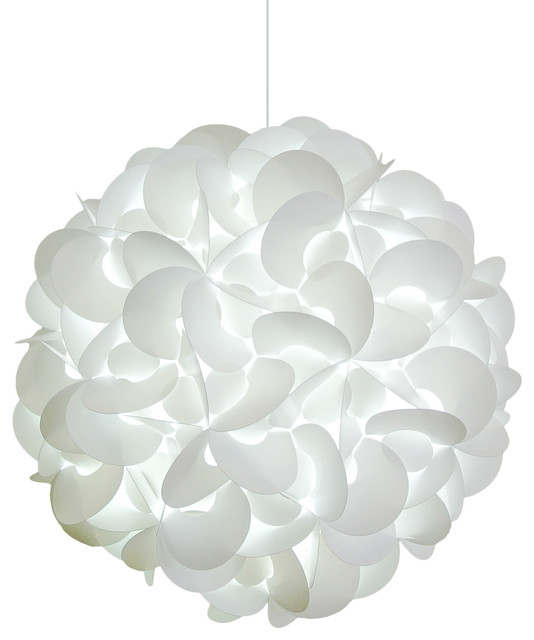 Deluxe Round Pendant Light Contemporary Pendant Lighting