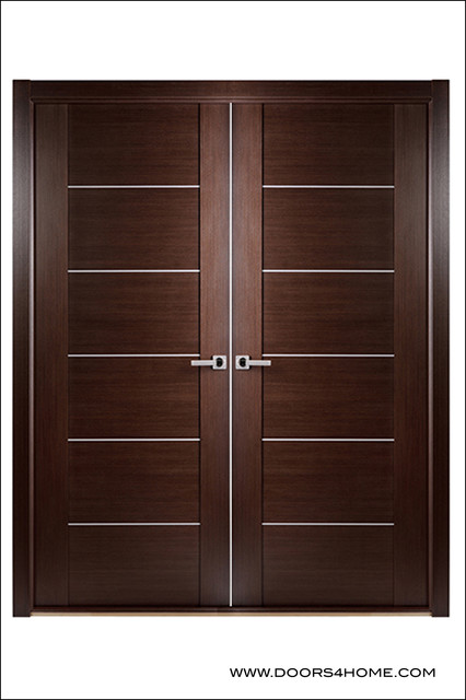Modern Interior Door Euro Maxima 201 Double interior-doors