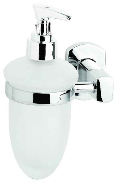 Croydex QM626641 Chelsea Soap Dispenser in Chrome traditional-bath-and-spa-accessories