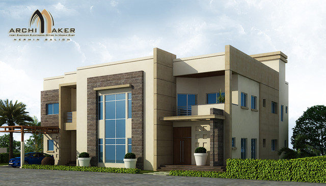 Saudi arabian house designs home design and style for Arabian home designs