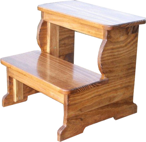 Extra Large Wooden Step Stool