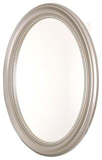 Oval Deco 24 in. Medicine Cabinet - SP4593 (B - Contemporary - Medicine Cabinets - by ShopLadder