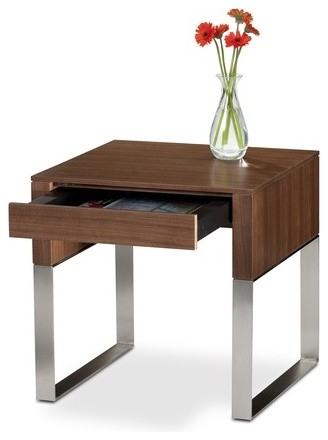 Cascadia End Table with Drawer modern-side-tables-and-accent-tables