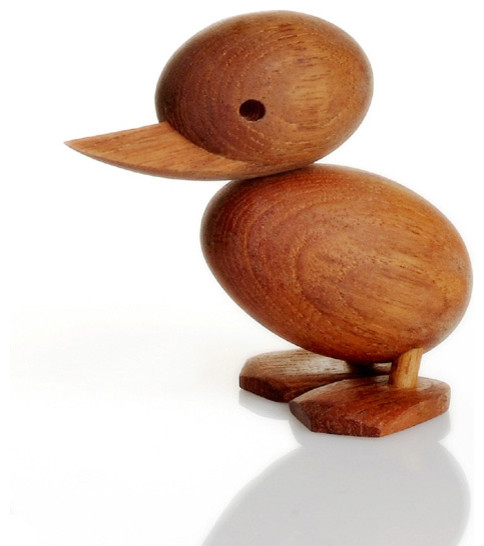 Hans Bolling Wooden Ducks modern-home-decor