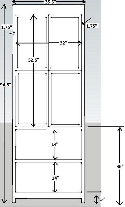 Pleasing dimensions for a linen closet for How to increase cabinet depth