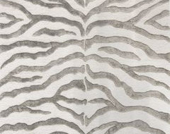 Safari Collection Contemporary Zebra Rug contemporary rugs