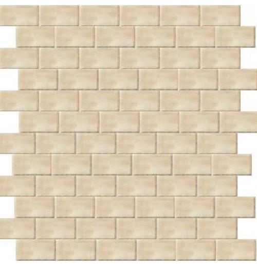 Pietra Etrusca Dorato Sorano Mosaico Volterra 1 x 2 modern-wall-and-floor-tile