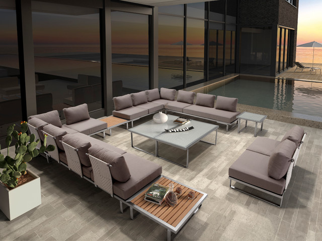Coast modular seating modern outdoor sofas toronto for Outdoor furniture toronto