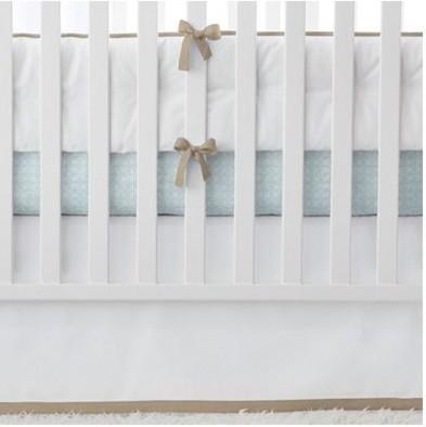 Mocha Basics Crib Bumper traditional-baby-bedding