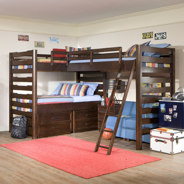 Studio Triple Corner Loft Bed 640 x 640