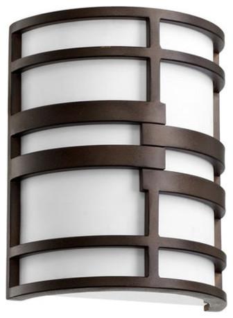 Quorum International 5202-86 Oiled Bronze Solo Solo 2 Light ADA contemporary-lamp-shades