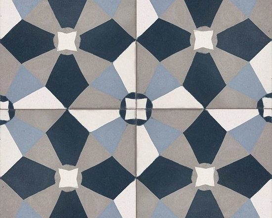 In Stock Cement Tile - Cement Tile Shop - Handmade Cement Tile | Altamont. Designed by Anna Burrous. With a quarter turn the tiles take on a whole new look.