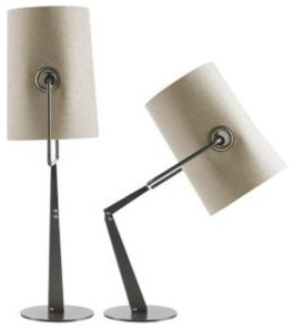 Fork Adjustable Table Task Lamp contemporary-table-lamps