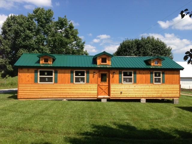 14x40 Whitetail Modular Cabin Craftsman Exterior