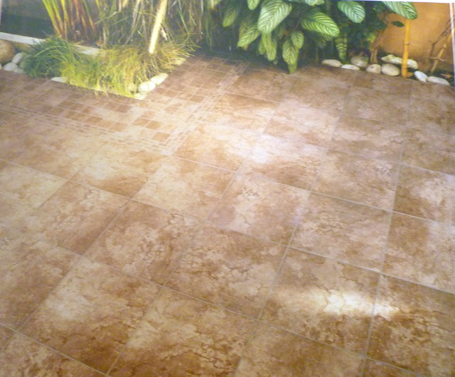 Outdoor Porcelain Floor Tile Rustic Travertine