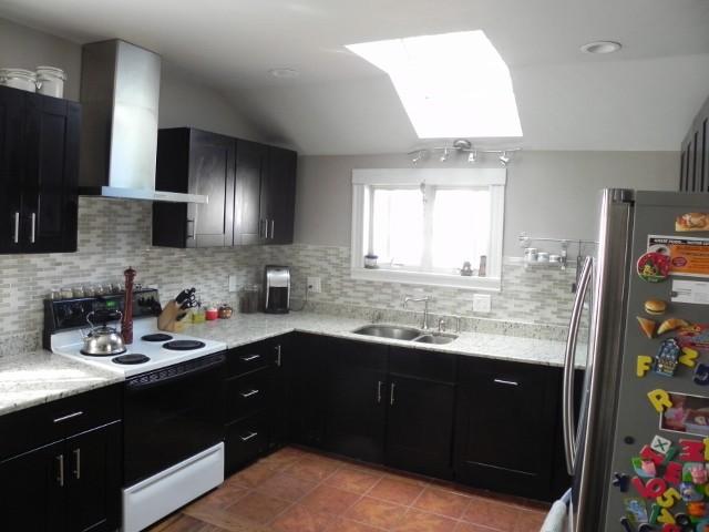 Customer Testimonial-  Mocha Shaker Cabinets modern-kitchen-cabinetry