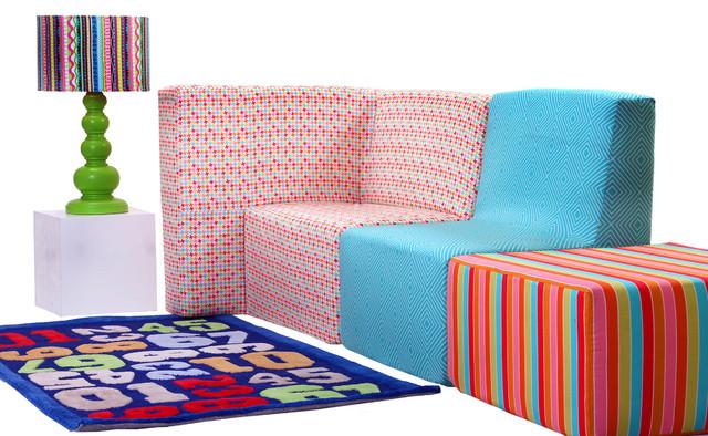 Play 3 pcs Sofa set for Kids Modern Kids Sofas  : modern kids sofas from www.houzz.com size 640 x 394 jpeg 146kB