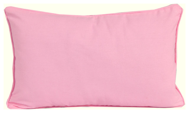 Plain Pink - Filled Cushion - Modern - Decorative Pillows - other metro - by Homescapes Europa Ltd