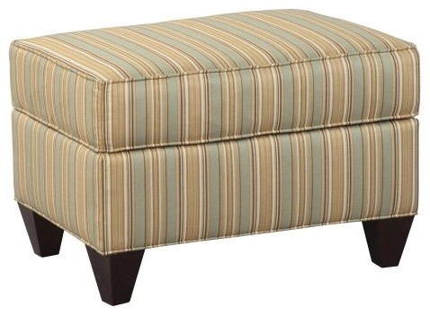 Stanton Cooper Diana Caprice Florentine Fabric Ottoman traditional-footstools-and-ottomans