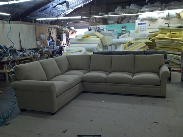 Adriana Sectional in Brown eclectic-sectional-sofas