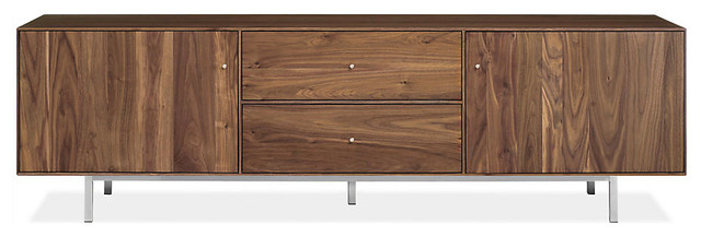Hudson Media Cabinets With Steel Base modern-media-storage