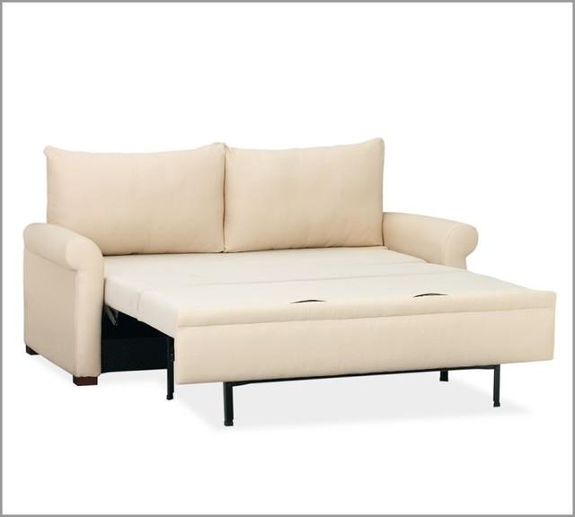 Pb deluxe sleeper sofa contemporary sleeper sofas by for Sectional sleeper sofa pottery barn