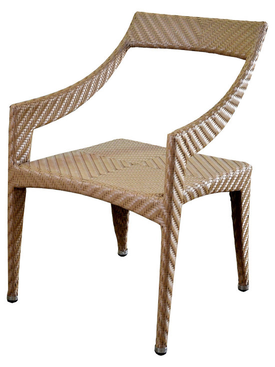 Piolo Dining arm chair - Hallsol Furniture