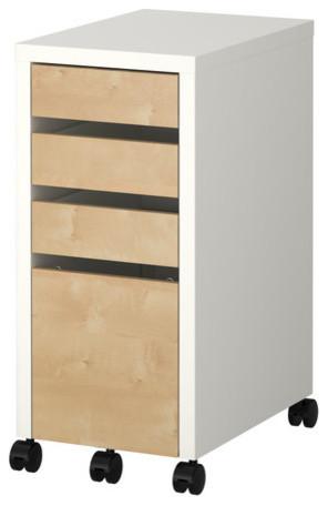 MICKE Drawer unit/drop file storage - Modern - by IKEA